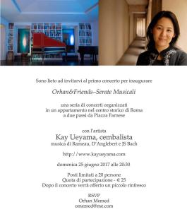 Kay Ueyama concerto 25 June